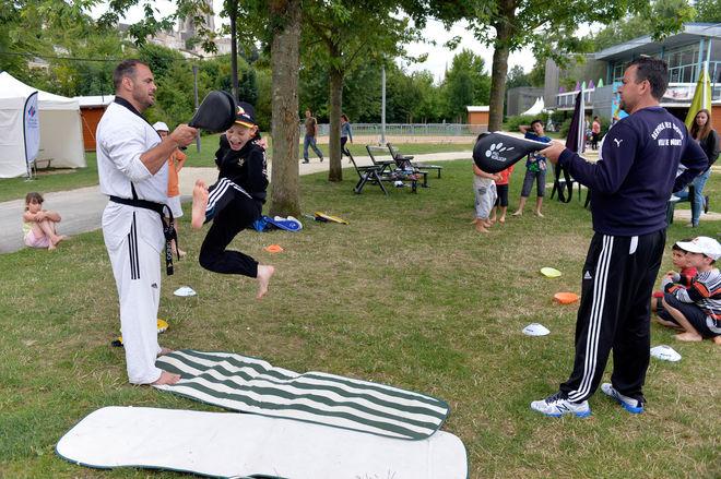 Niort Plage : Taekwondo