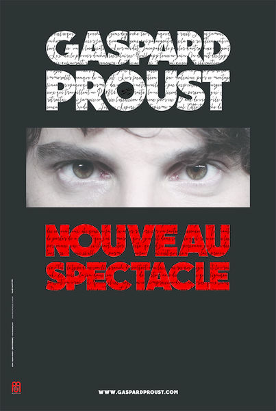 Spectacle : Gaspard Proust