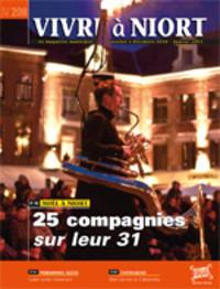 couverture Magazine vivre à niort : Numéro de décembre 2010 - janvier 2011