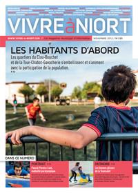 couverture Magazine vivre à niort : Numéro de novembre 2012
