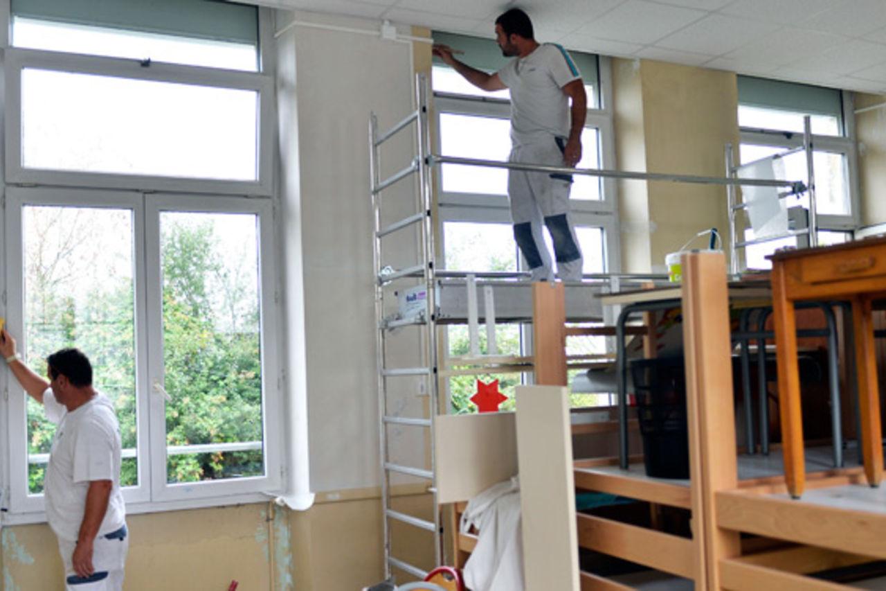 Vivre Dans Les Travaux travaux d'été dans les écoles : mairie de niort