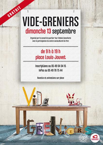 Vide-greniers place Louis-Jouvet