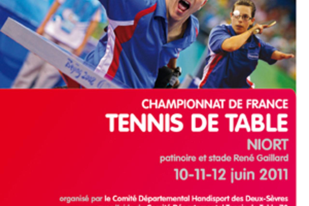 Championnat De France De Tennis De Table Handisport Mairie De Niort