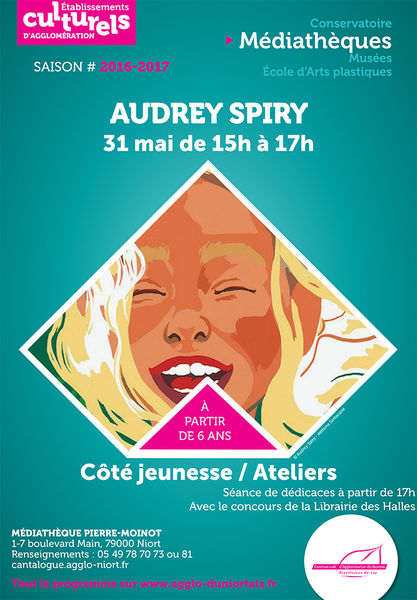 Rencontre avec Audrey Spiry, auteure et illustratrice jeunesse