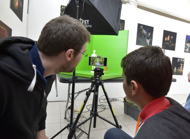 Takavoir : Ateliers d'initiation à la prise de vue et montage