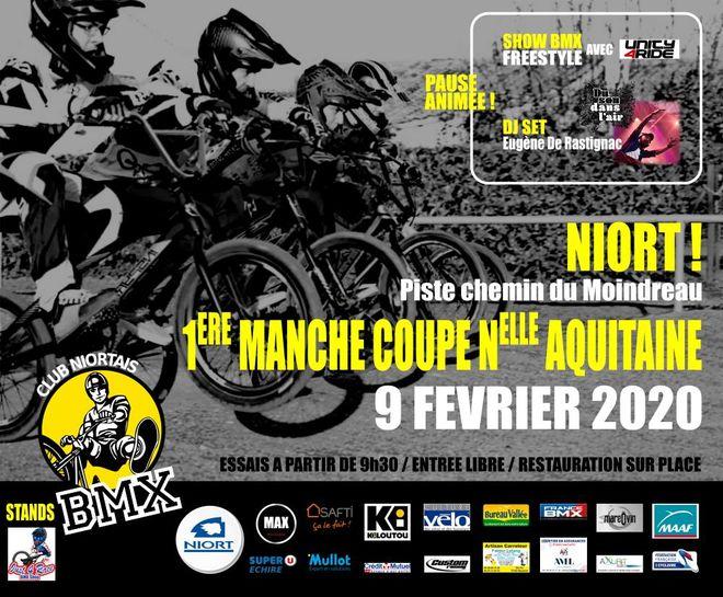 BMX : Coupe Nouvelle Aquitaine