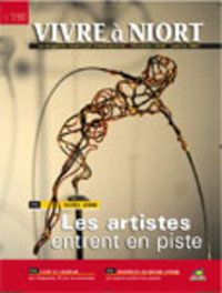 couverture Magazine vivre à niort : Numéro de décembre 2008