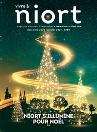 couverture Magazine vivre à niort : Numéro de décembre 2020