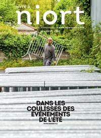 couverture Magazine vivre à niort : Numéro de juin 2017