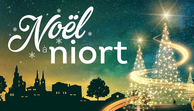 Affiche de Noël à Niort 2020