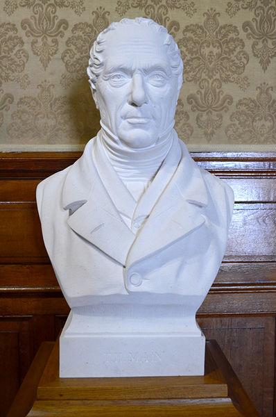 Inauguration : Thomas-Hippolyte Main de nouveau en buste