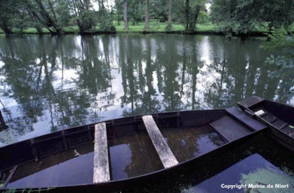 barque sur la Sèvre