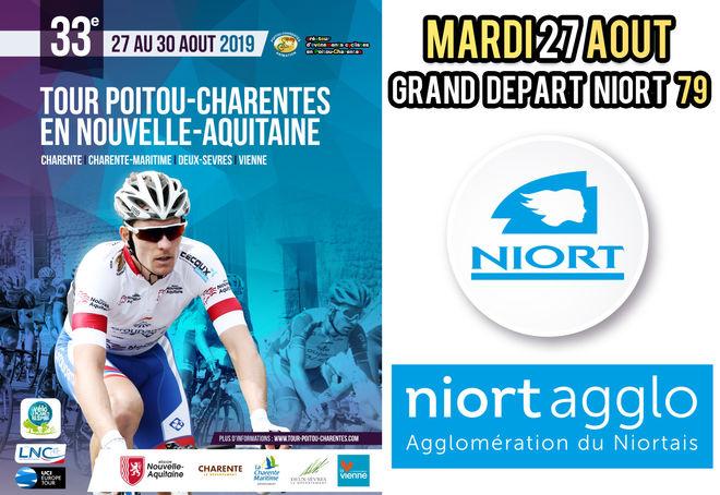 Tour cycliste Poitou-Charentes : Niort, ville départ
