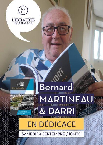Signature avec Bernard Martineau et Darri