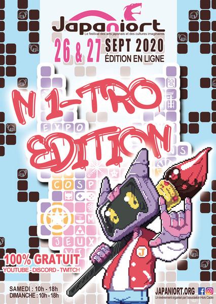 Japaniort : N1-TRO festival, l'édition en ligne