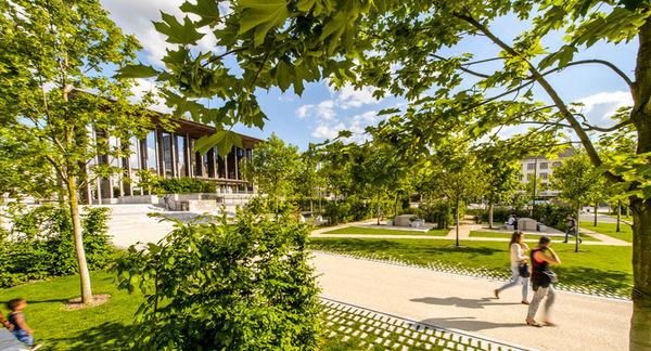 Jardins de la Brèche. Photo Alex Giraud.