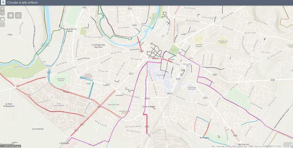 Circuler à Niort en vélo