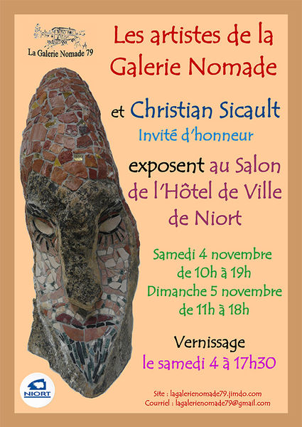 Les artistes de la Galerie Nomade exposent à l'Hôtel de Ville