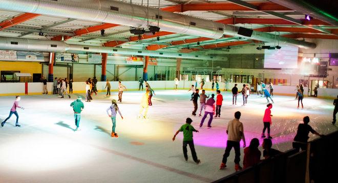Coolgliss à la patinoire
