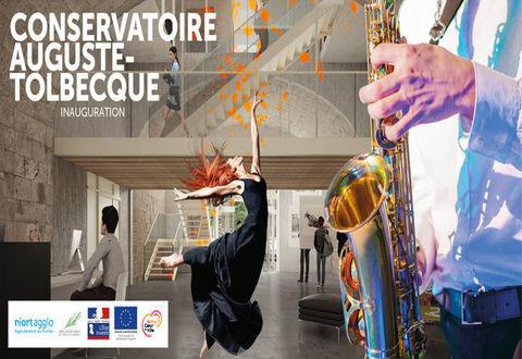 Illustration article : Inauguration du conservatoire