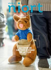 couverture Magazine vivre à niort : Numéro de novembre 2016
