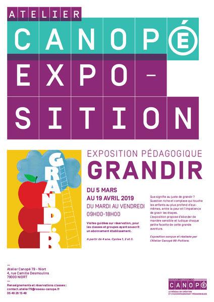 "Exposition pédagogique ""Grandir"""