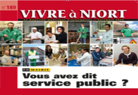Illustration article : Magazine Vivre à Niort