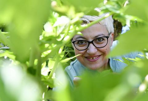 Portrait de Vanessa Brard presidente de l?Association de Promotion de l'Angelique Niort-Marais Poitevin