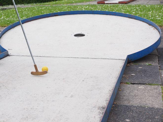 Niort Plage : Parcours mini-golf