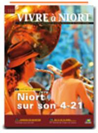 couverture Magazine vivre à niort : Numéro de Juin 2008