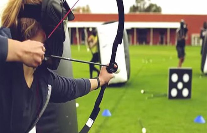 Niort Plage : Archery game