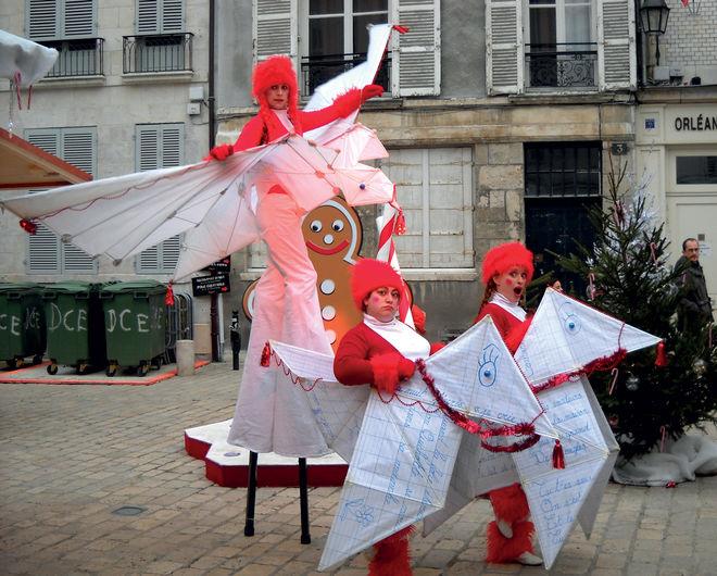 Noël à Niort : Les origamines de Noël