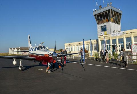 Illustration article : L'aérodrome Niort-Marais poitevin s'ouvre sur plus de 2 000 destinations