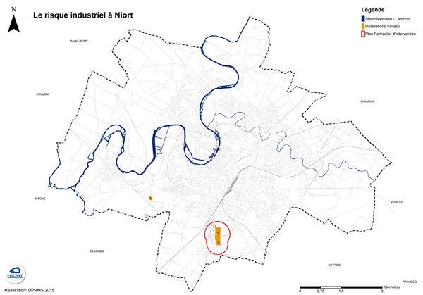 Plan des risques industriels à Niort