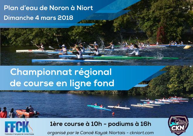 Canoë Kayak : Championnat régional de course en ligne fond