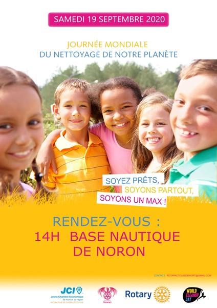 World Clean Up Day à Noron