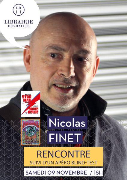 Rencontre : Nicolas Finet