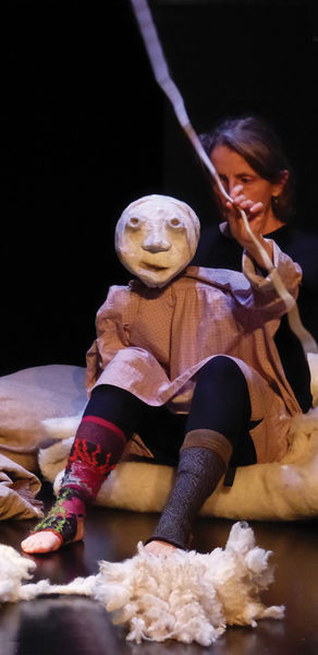 """Théâtre de marionnettes.""""Un mouton dans mon pull"""""""