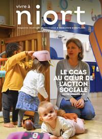 couverture Magazine vivre à niort : Numéro de novembre 2019