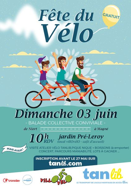 Fête du vélo avec Tanlib et VillOvélO