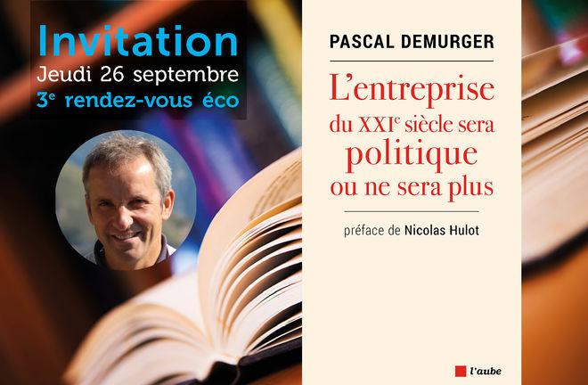 3e rendez-vous éco avec Pascal Demurger