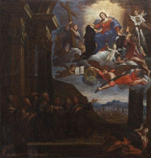 L'art au menu : Apparition de la Vierge aux religieux servites