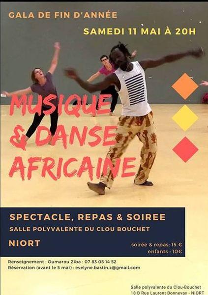 Gala de fin d'année – Danse Africaine