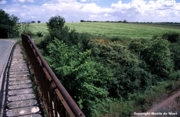 Pont sur le parcours des Fontenelles