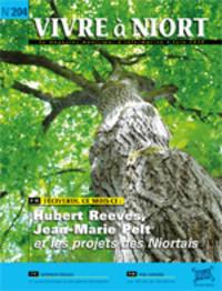 couverture Magazine vivre à niort : Numéro de juin 2010