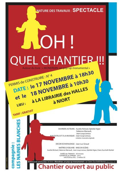 Lecture-spectacle : Oh ! Quel chantier !
