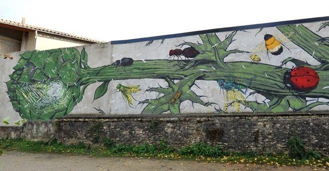 Parcours-Visite : Les fresques à Niort