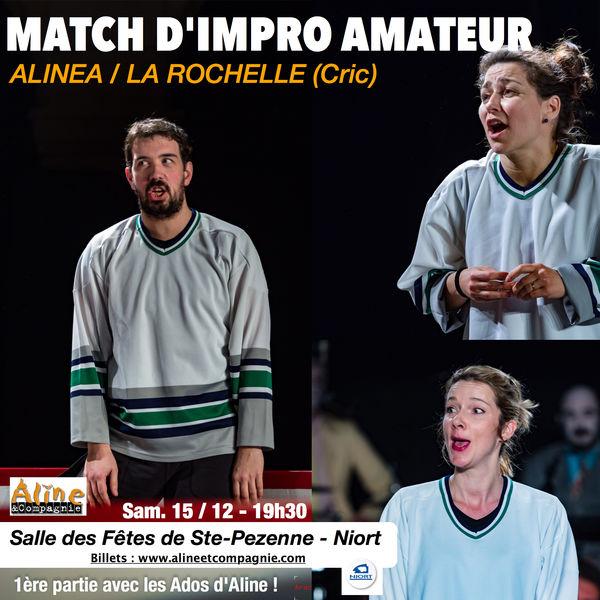 Match d'Impro Amateur Alinéa / La Rochelle