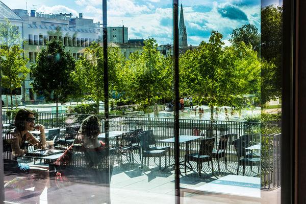 Columbus Café & Co, Jardins de la Brèche ©Romuald Goudeau
