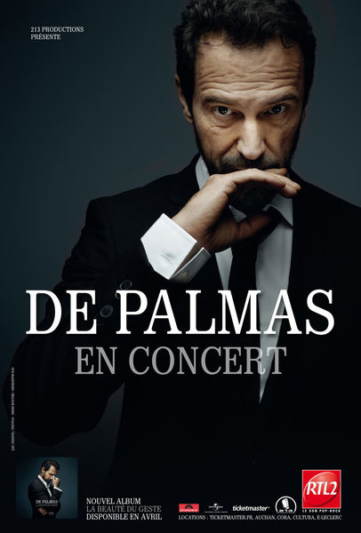Concert : Gérarld De Palmas
